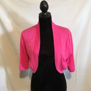 Pink bolero type sweater, Massimo brand size Med
